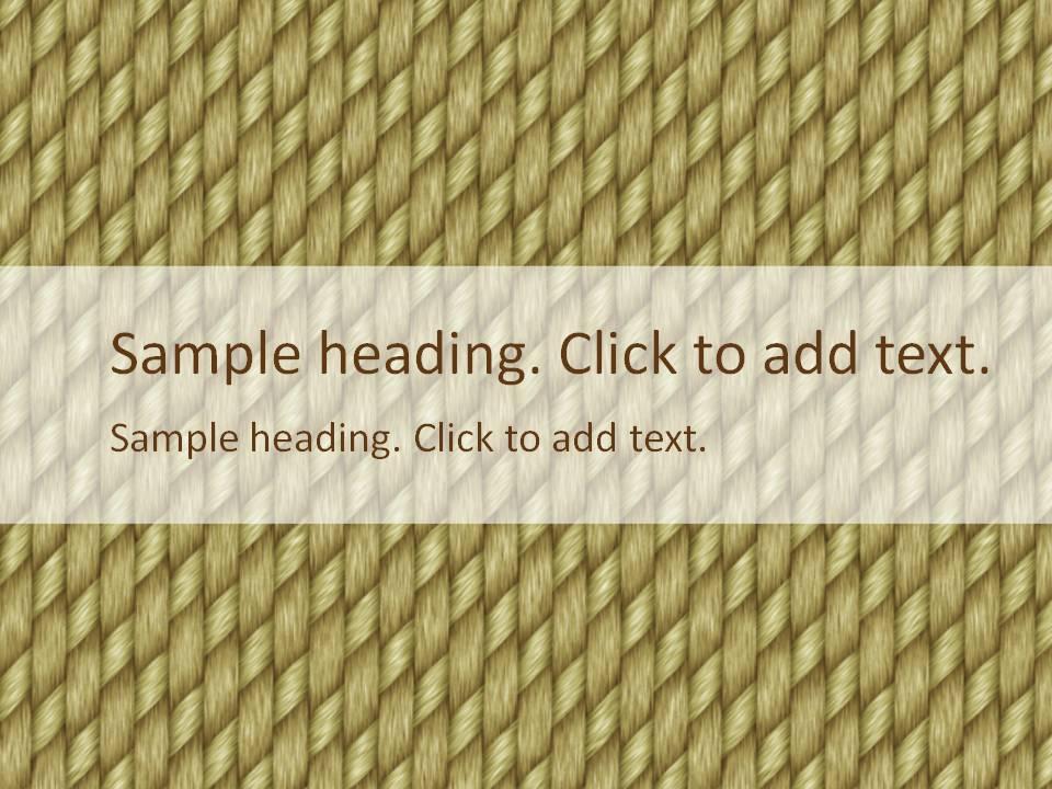 Cloth01-PowerPointテンプレートのアイキャッチ画像
