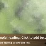 Window glass02-PowerPointテンプレート