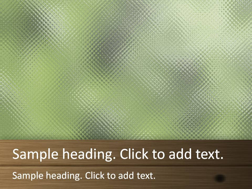Window glass02-PowerPointテンプレートのアイキャッチ画像