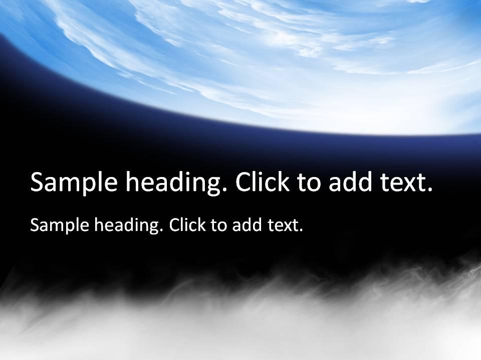Space01-PowerPointテンプレートのアイキャッチ画像