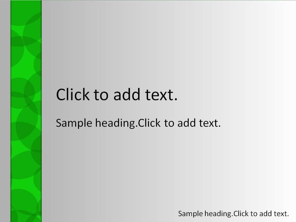 Green circle01-PowerPointテンプレートのアイキャッチ画像