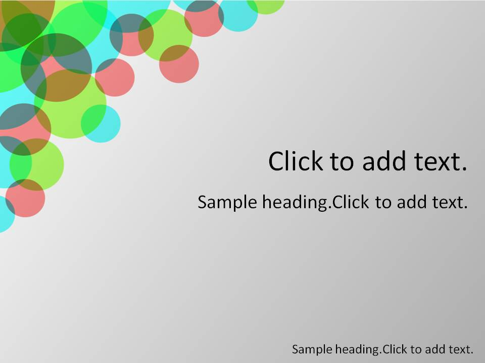 Multi circle01-PowerPointテンプレートのアイキャッチ画像