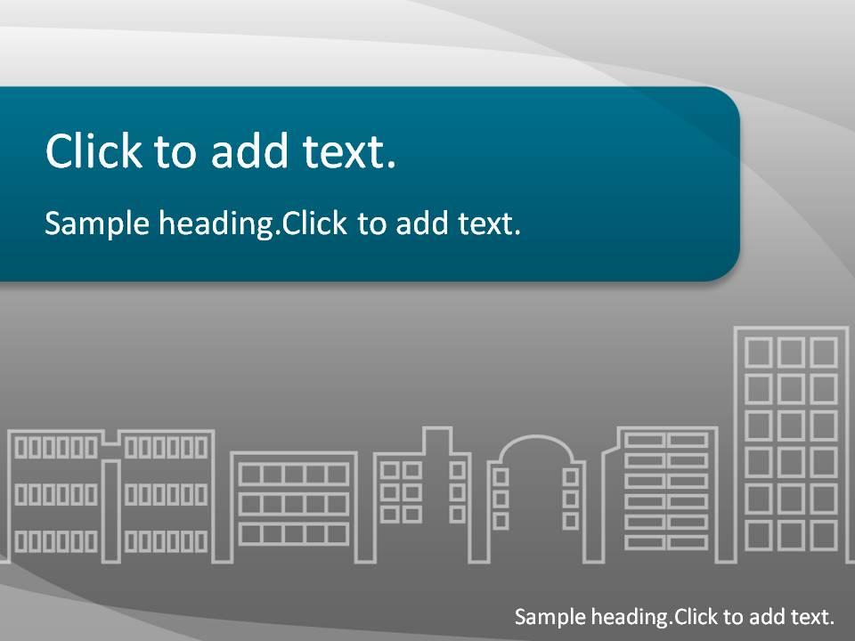 Building01-PowerPointテンプレートのアイキャッチ画像