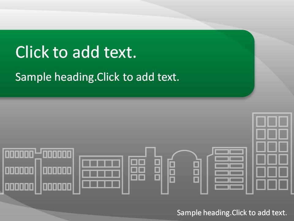 Building02-PowerPointテンプレートのアイキャッチ画像