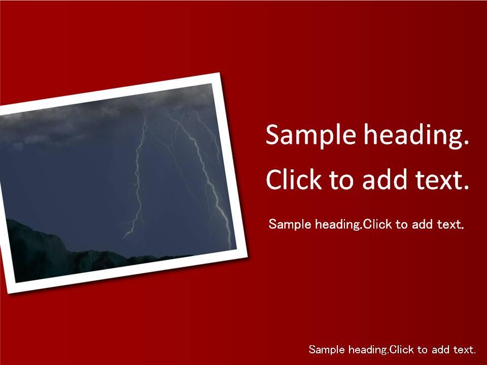 Disaster02-PowerPointテンプレートのアイキャッチ画像