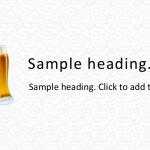 beer01-PowerPointワイドテンプレート