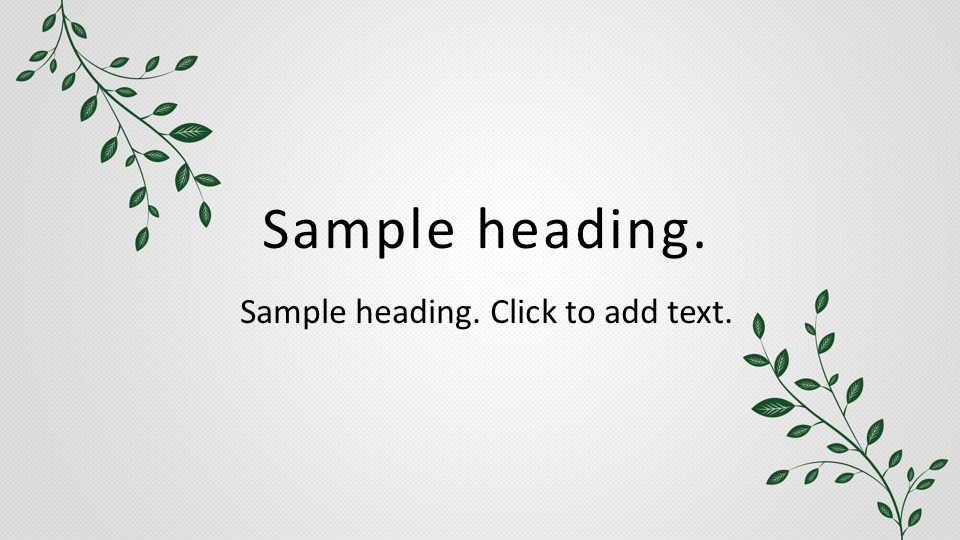 Leaf02-PowerPointワイドテンプレートのアイキャッチ画像