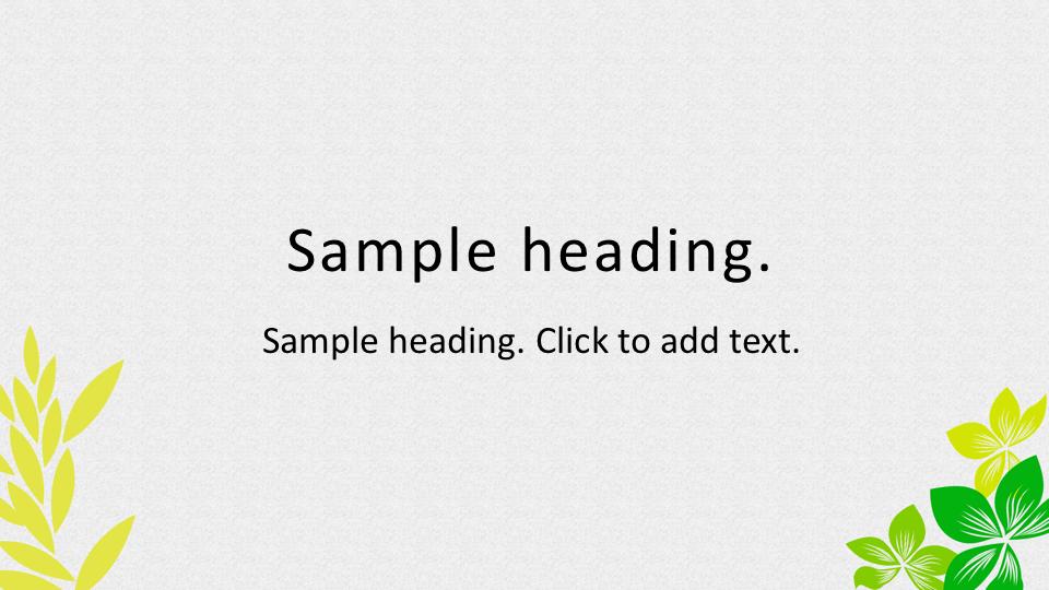 Leaf03-PowerPointワイドテンプレートのアイキャッチ画像