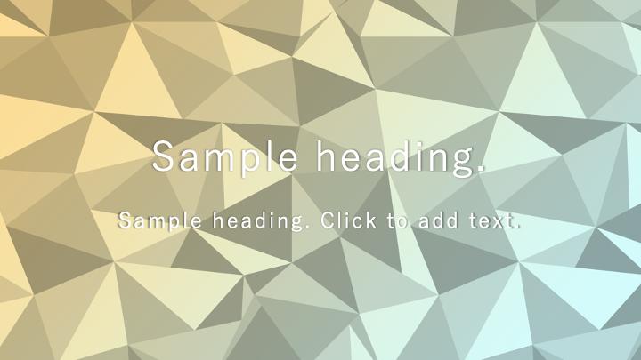 Polygon Animation02-PowerPointワイドテンプレートのアイキャッチ画像