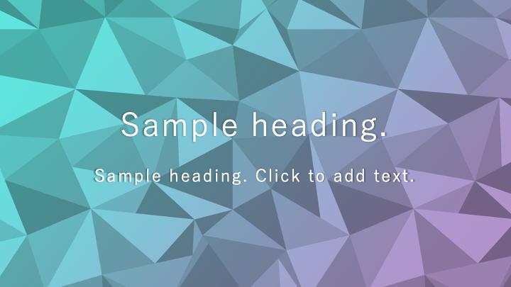 Polygon Animation01-PowerPointワイドテンプレートのアイキャッチ画像